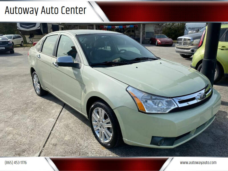 2010 Ford Focus for sale at Autoway Auto Center in Sevierville TN