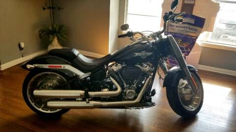 2019 HARLEY DAVIDSON FLFBS for sale at Clover Leaf Auto Group in San Antonio TX