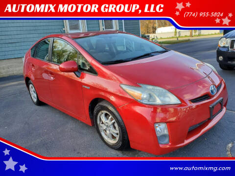 2010 Toyota Prius for sale at AUTOMIX MOTOR GROUP, LLC in Swansea MA
