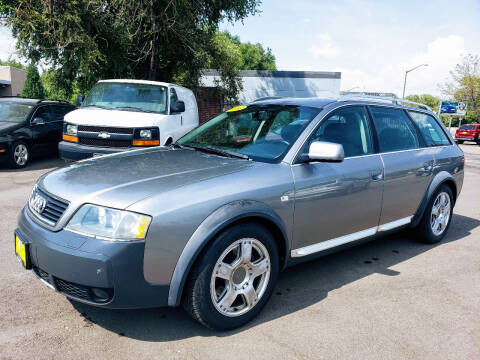 2004 Audi Allroad for sale at J & M PRECISION AUTOMOTIVE, INC in Fort Collins CO