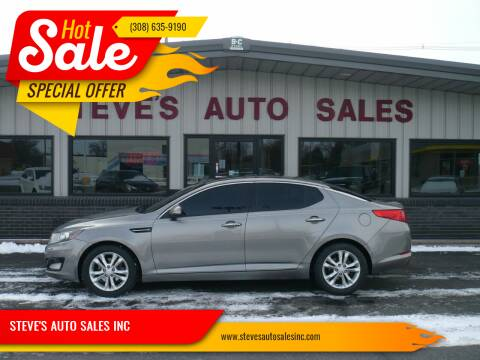 2013 Kia Optima for sale at STEVE'S AUTO SALES INC in Scottsbluff NE