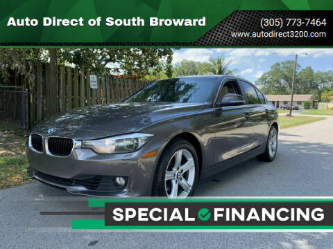 2015 BMW 3 Series for sale at Auto Direct of South Broward in Miramar FL