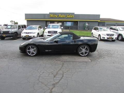 2008 Chevrolet Corvette for sale at MIRA AUTO SALES in Cincinnati OH