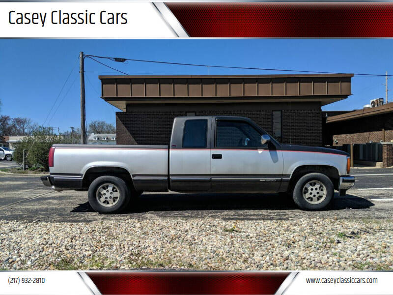 1991 GMC Sierra 1500 for sale at Casey Classic Cars in Casey IL