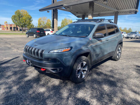 2015 Jeep Cherokee for sale at Atlas Auto in Grand Forks ND