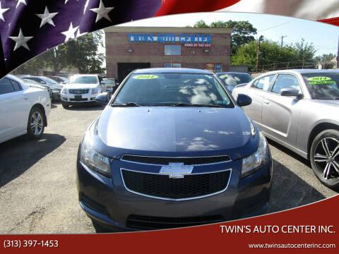 2014 Chevrolet Cruze for sale at Twin's Auto Center Inc. in Detroit MI