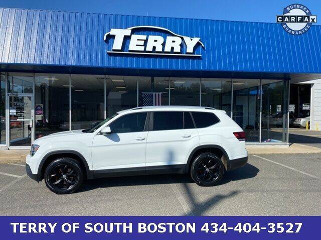 2018 Volkswagen Atlas for sale at Terry of South Boston in South Boston VA