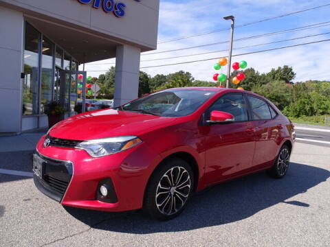 2014 Toyota Corolla for sale at KING RICHARDS AUTO CENTER in East Providence RI
