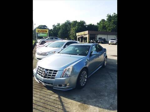 2013 Cadillac CTS for sale at TR Motors in Opelika AL