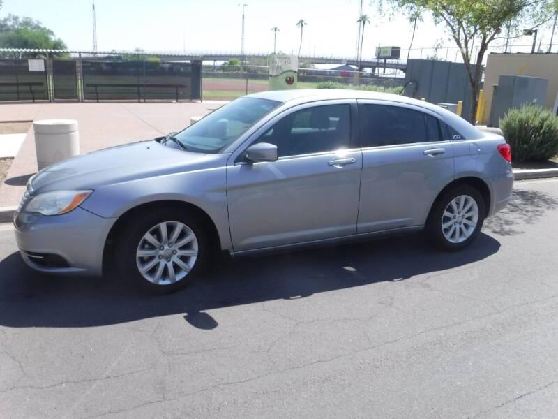 2014 Chrysler 200 for sale at J & E Auto Sales in Phoenix AZ