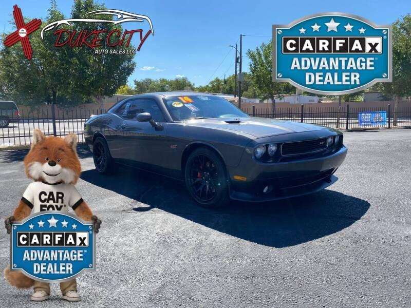 2014 Dodge Challenger for sale at DUKE CITY AUTO SALES in Albuquerque NM