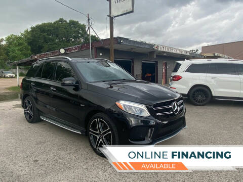 2018 Mercedes-Benz GLE for sale at Texas Luxury Auto in Houston TX