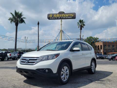 2014 Honda CR-V for sale at A MOTORS SALES AND FINANCE in San Antonio TX