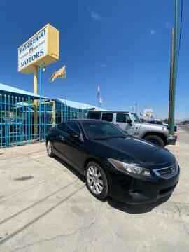 2008 Honda Accord for sale at Borrego Motors in El Paso TX