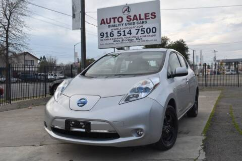 2012 Nissan LEAF for sale at A1 Auto Sales in Sacramento CA