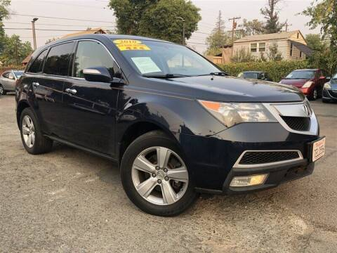 2010 Acura MDX for sale at Stunning Auto in Sacramento CA
