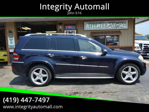 2009 Mercedes-Benz GL-Class for sale at Integrity Automall in Tiffin OH