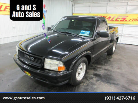 2001 GMC Sonoma for sale at G and S Auto Sales in Ardmore TN