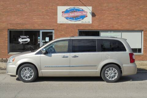 2012 Chrysler Town and Country for sale at Eyler Auto Center Inc. in Rushville IL