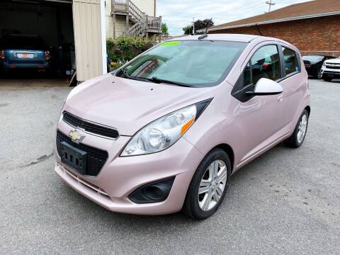 2013 Chevrolet Spark for sale at Dijie Auto Sale and Service Co. in Johnston RI