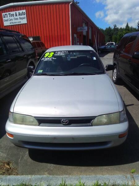 1993 Toyota Corolla for sale at ATI Automotive & Used Cars Inc. in Plaistow NH