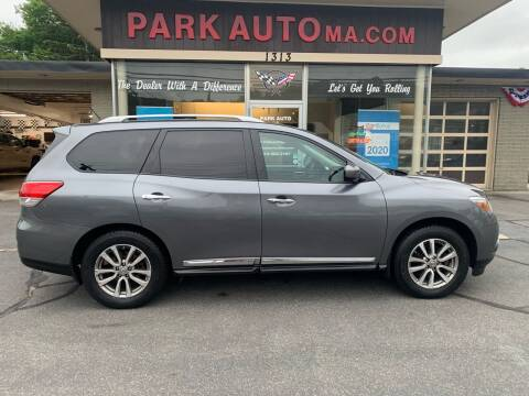 2015 Nissan Pathfinder for sale at Park Auto LLC in Palmer MA