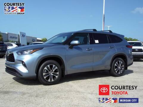 2020 Toyota Highlander for sale at Courtesy Toyota & Ford in Morgan City LA