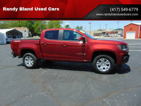 2021 Chevrolet Colorado for sale at Randy Bland Used Cars in Nevada MO