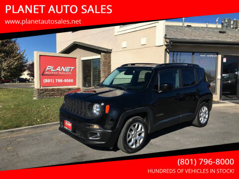 2017 Jeep Renegade for sale at PLANET AUTO SALES in Lindon UT