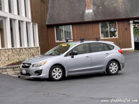 2013 Subaru Impreza for sale at Cupples Car Company in Belmont NH