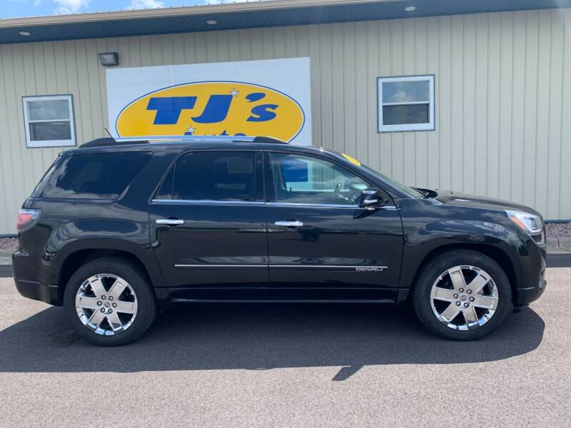 2015 GMC Acadia for sale at TJ's Auto in Wisconsin Rapids WI