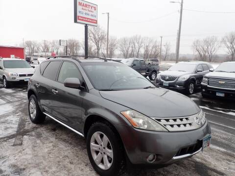 2007 Nissan Murano for sale at Marty's Auto Sales in Savage MN