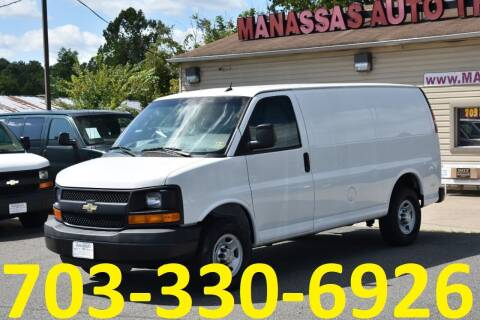 2015 Chevrolet Express Cargo for sale at MANASSAS AUTO TRUCK in Manassas VA