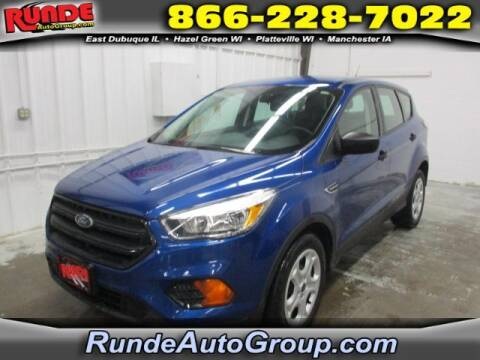 2017 Ford Escape for sale at Runde Chevrolet in East Dubuque IL