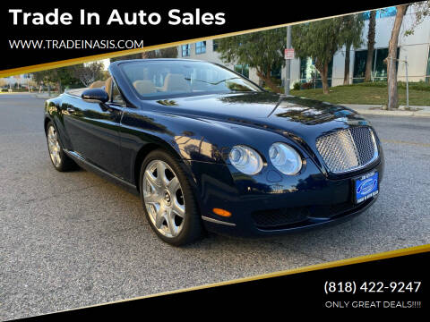 2008 Bentley Continental for sale at Trade In Auto Sales in Van Nuys CA