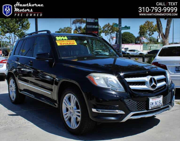 2014 Mercedes-Benz GLK for sale at Hawthorne Motors Pre-Owned in Lawndale CA