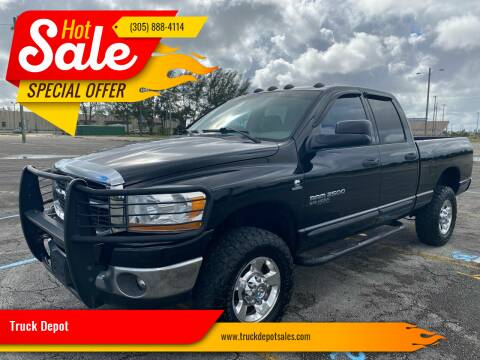 2006 Dodge Ram Pickup 2500 for sale at Truck Depot in Miami FL