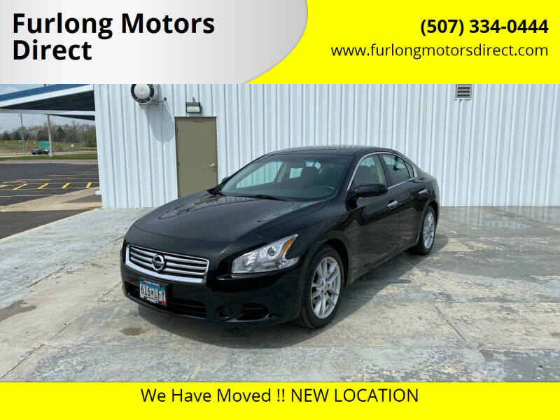 2014 Nissan Maxima for sale at Furlong Motors Direct in Faribault MN