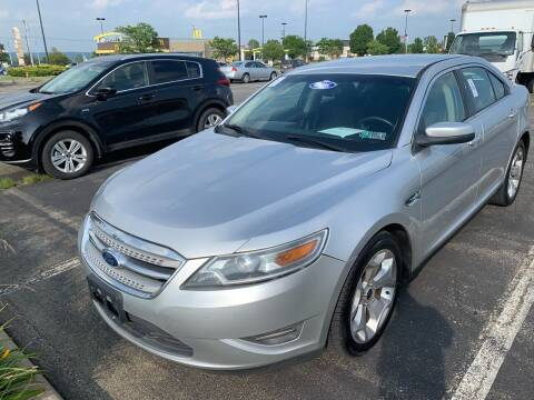 2010 Ford Taurus for sale at Trocci's Auto Sales in West Pittsburg PA