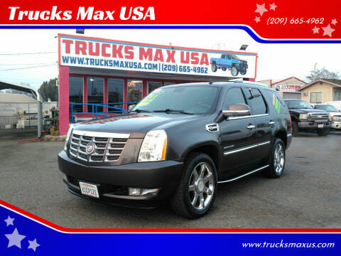 2011 Cadillac Escalade Hybrid for sale at Trucks Max USA in Manteca CA