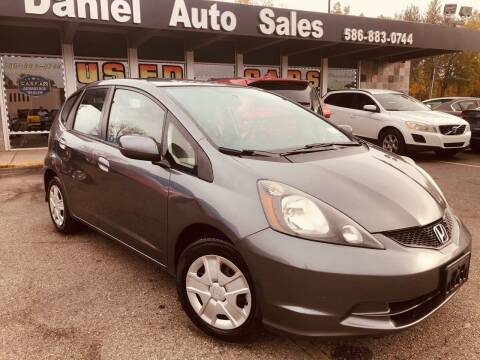 2012 Honda Fit for sale at Daniel Auto Sales inc in Clinton Township MI
