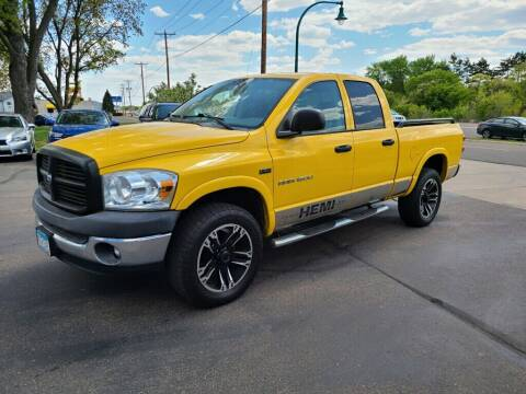 2007 Dodge Ram Pickup 1500 for sale at Premier Motors LLC in Crystal MN