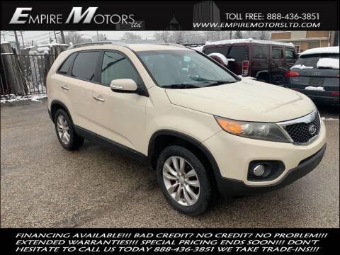 2011 Kia Sorento for sale at Empire Motors LTD in Cleveland OH