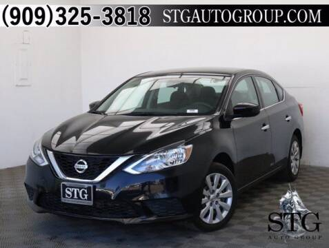 2017 Nissan Sentra for sale at STG Auto Group in Montclair CA