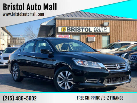 2015 Honda Accord for sale at Bristol Auto Mall in Levittown PA