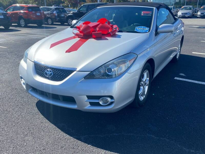 2007 Toyota Camry Solara for sale at Charlotte Auto Group, Inc in Monroe NC