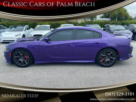2019 Dodge Charger for sale at Classic Cars of Palm Beach in Jupiter FL