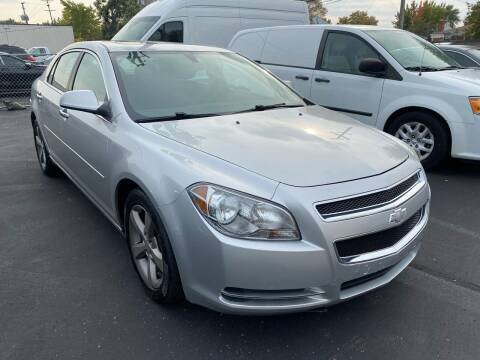 2012 Chevrolet Malibu for sale at My Town Auto Sales in Madison Heights MI