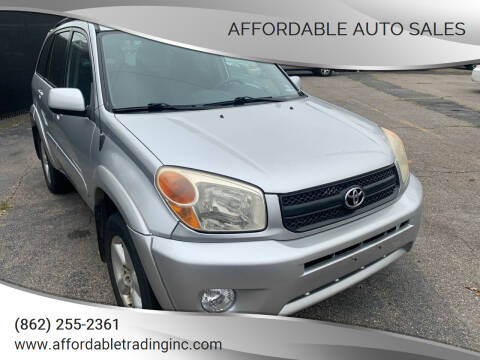 2005 Toyota RAV4 for sale at Affordable Auto Sales in Irvington NJ