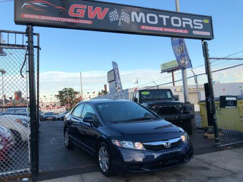 2010 Honda Civic for sale at GW MOTORS in Newark NJ